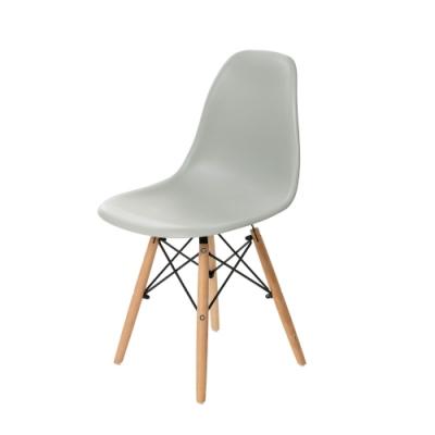 樂嫚妮 5入北歐復刻餐椅/椅子/休閒椅/辦公椅-灰