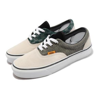 Vans 休閒鞋 Era 復古 MIX  MATCH 男女鞋 棋盤格 基本款 支撐 穿搭 情侶鞋 淺褐 綠 VN0A4BV41UA