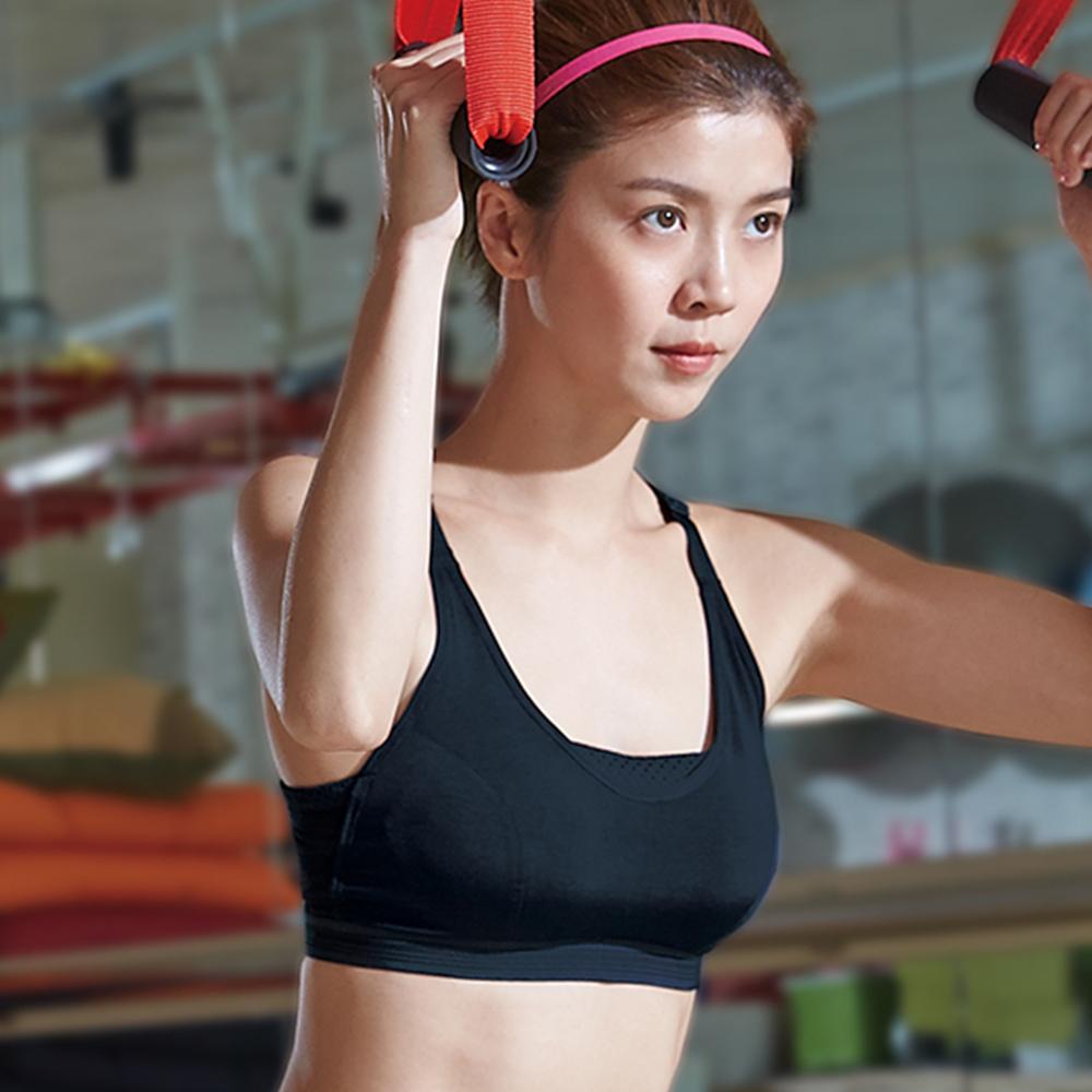 蕾黛絲-LadieSport好運動-Level3-釋壓背心 M-EEL 動力黑
