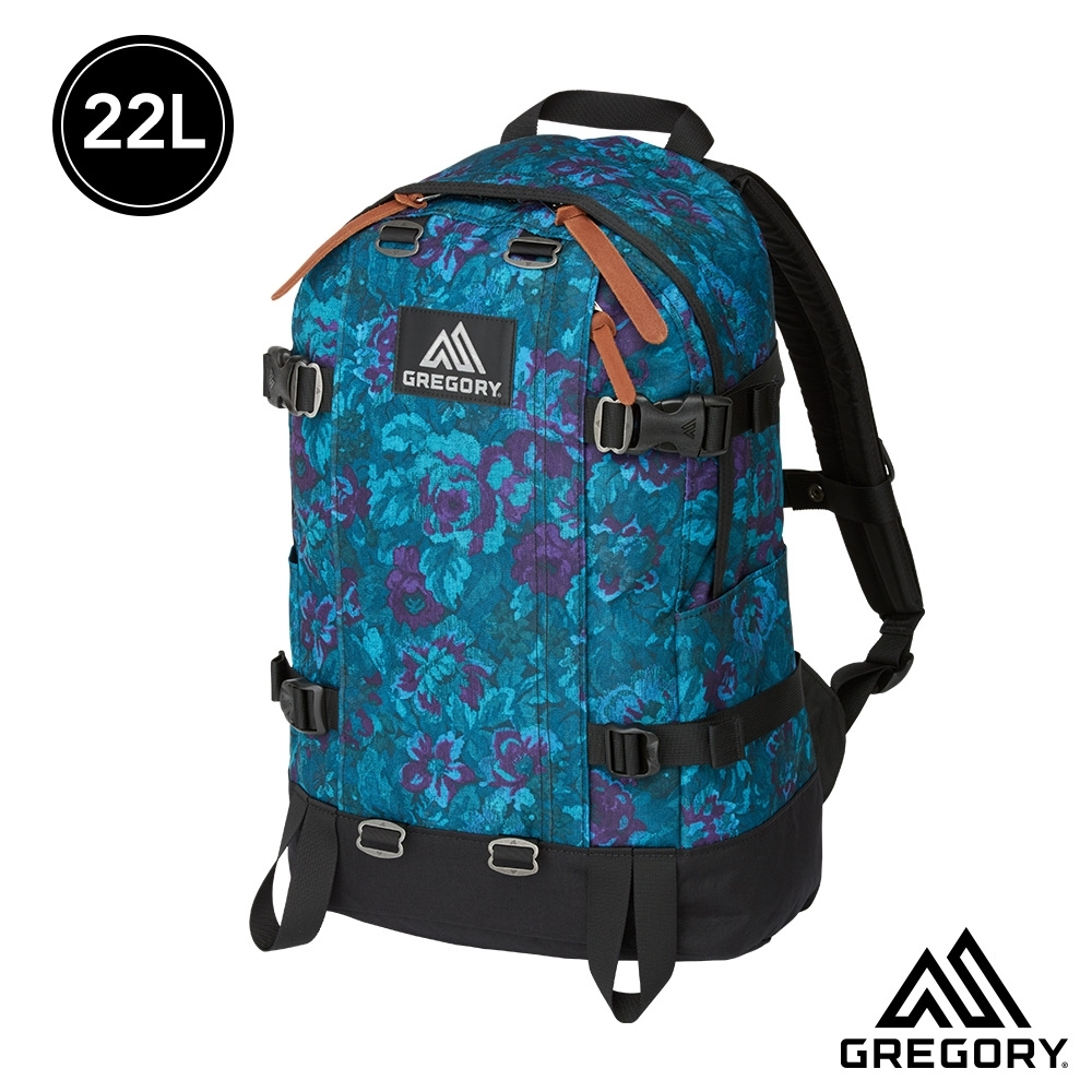 雙11限定★Gregory 22L ALL DAY V2 後背包 迷幻藍花