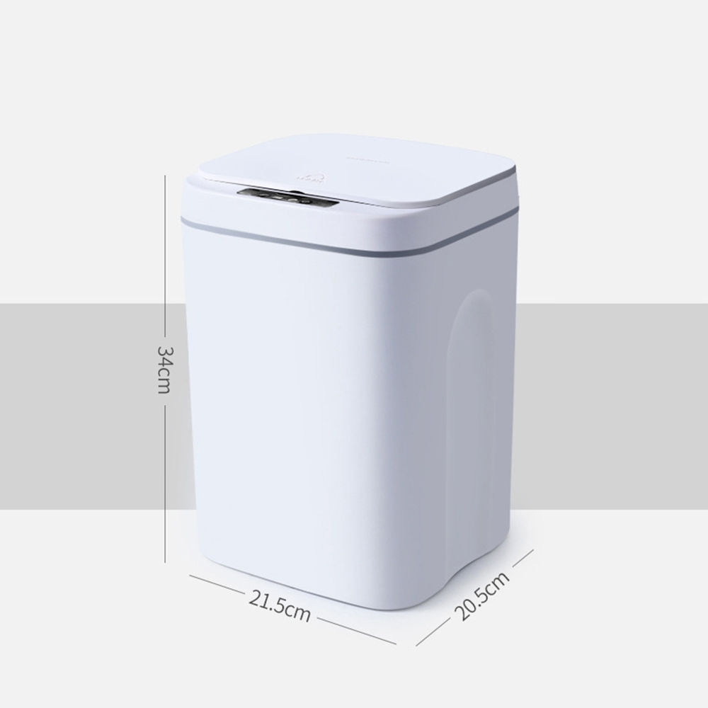 現代風感應式垃圾桶(16L)