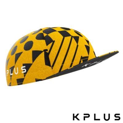 KPLUS FORMULA特仕款騎行小帽/單車小帽-方程式黃