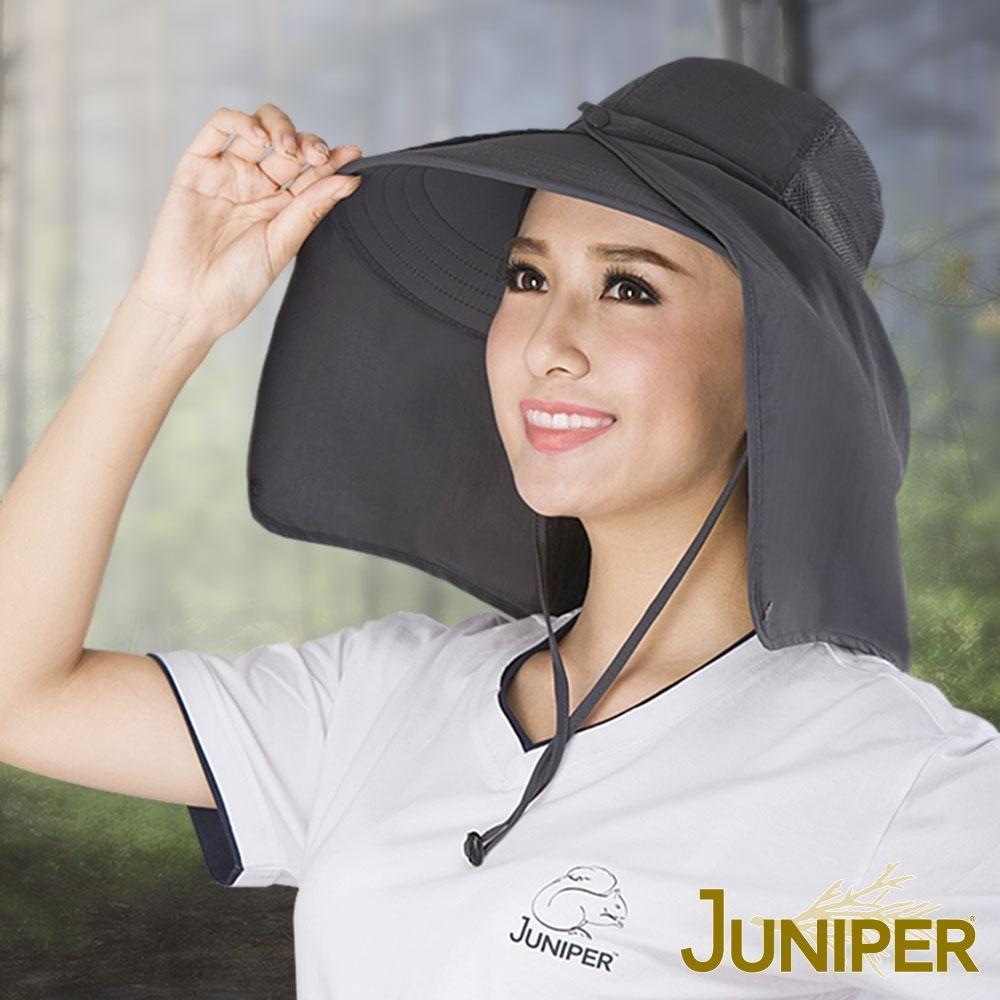 JUNIPER 女款抗紫外線UV高頂遮陽帽+可拆式披風
