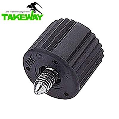 台灣製造Takeway鉗式腳架T1雲台旋紐T-BK01