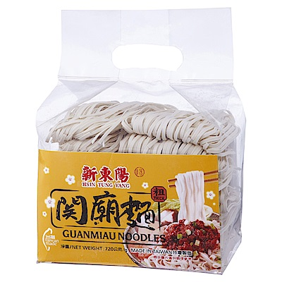 新東陽 關廟麵-粗(720g)