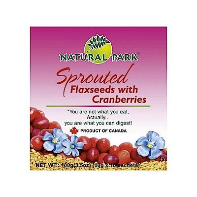 NATURAL PARK 加拿大亞麻籽粉-蔓越莓口味(10gx10包)
