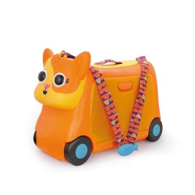 B.Toys 菠蘿貓胖咪行李箱_Land of B.系列