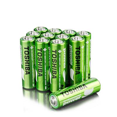 東芝TOSHIBA 環保 無鉛綠碳鋅電池 (3號16顆入)