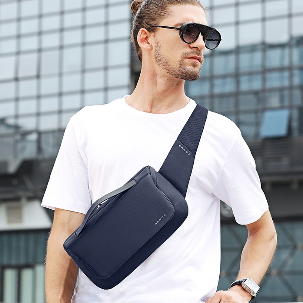 leaper 簡潔時尚休閒單肩包腰包 共3色 product image 1