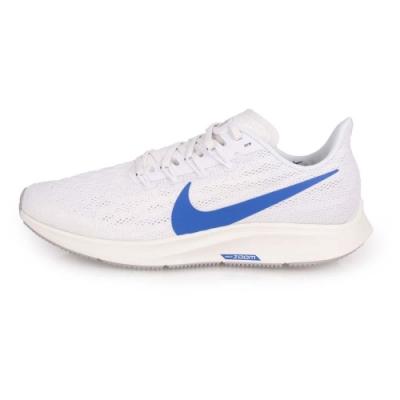NIKE AIR ZOOM PEGASUS 36 男慢跑鞋-路跑 白藍灰