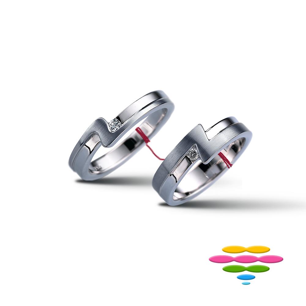 彩糖鑽工坊 鑽石對戒 緣份系列 product image 1