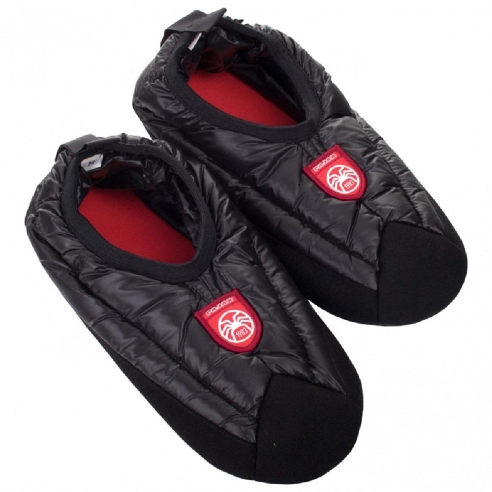 波蘭 Pajak Slippers 羽絨拖鞋 中性款 黑