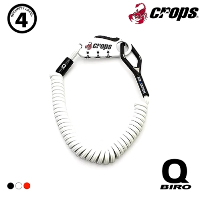 CROPS Q-BIRO 多用途密碼鎖 CP-SPD04-BR / 白色