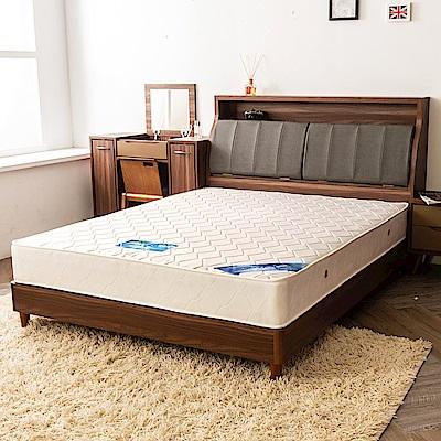 時尚屋 雷克森冬夏兩用5尺雙人獨立筒彈簧床墊
