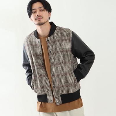 ZIP日本男裝 棒球外套長袖素色夾克外套(6色)