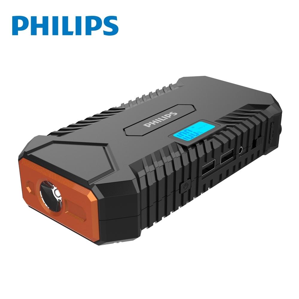 【Philips 飛利浦】LED顯示救車行動電源 DLP7712N