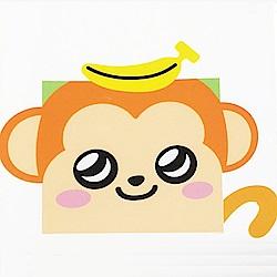 任選LOVIN 超萌韓版數字油畫可愛動物系列-M1香蕉猴1幅