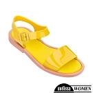 Melissa 經典漆面涼鞋 黃