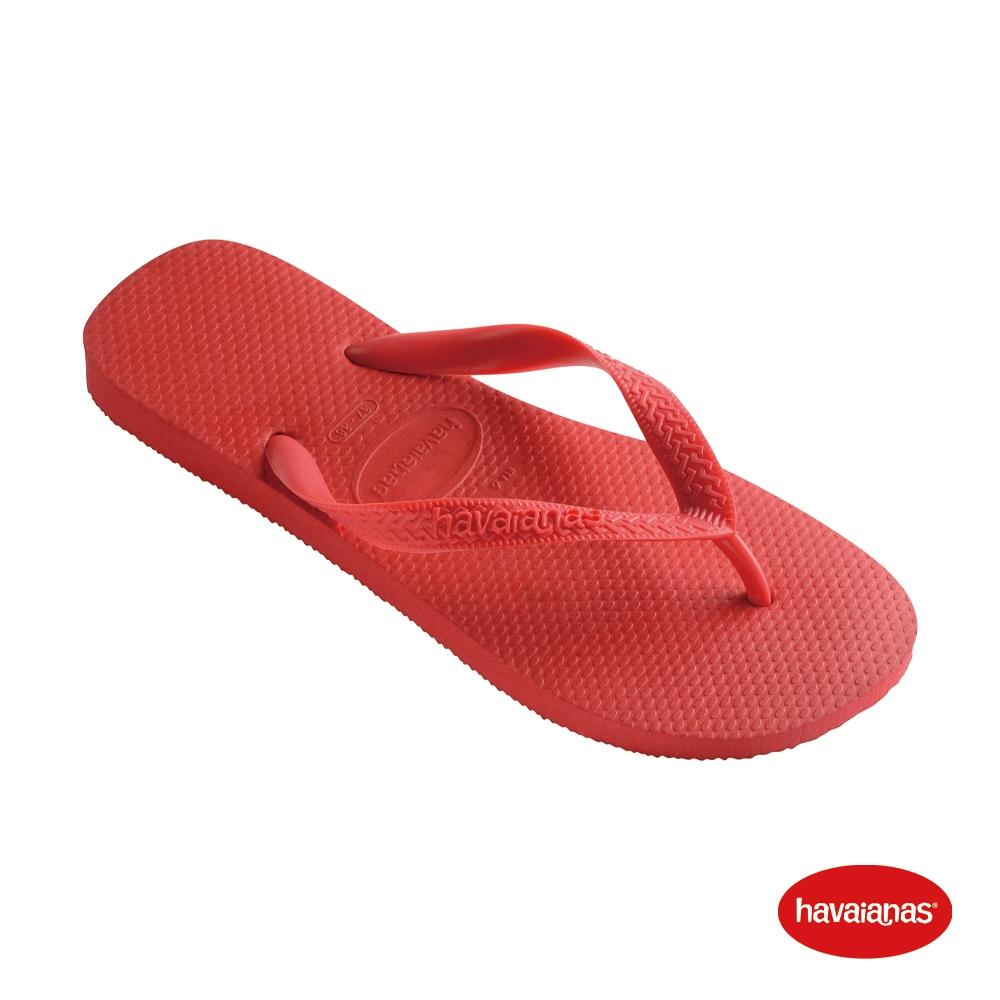 Havaianas 哈瓦仕 拖鞋 夾腳拖 人字拖  巴西 男鞋 女鞋 寶石紅 4000029-2090U Top