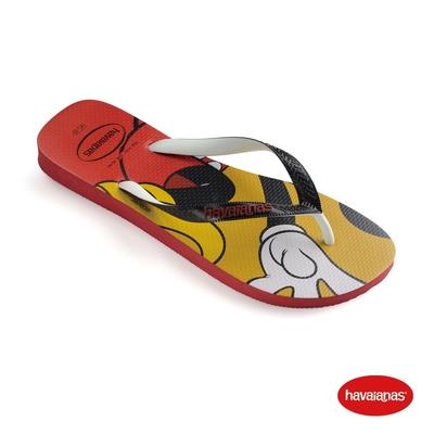 Havaianas哈瓦仕 拖鞋 米奇 夾腳拖 人字拖 巴西 男鞋 女鞋 紅 4123500-1440U Disney Stylish 迪士尼