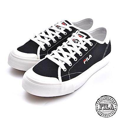 FILA 男款 刺繡小LOGO 帆布鞋 1 C910S 001