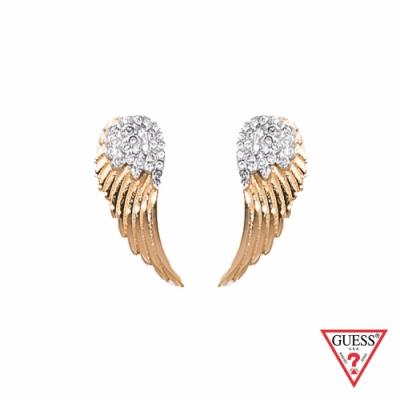 GUESS-配件-天使之翼耳環-金