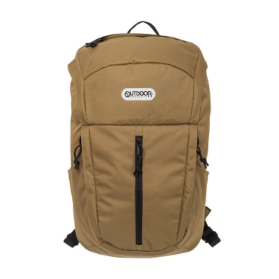 【OUTDOOR】風格前線-15.6吋筆電後背包-棕色 OD101109BE