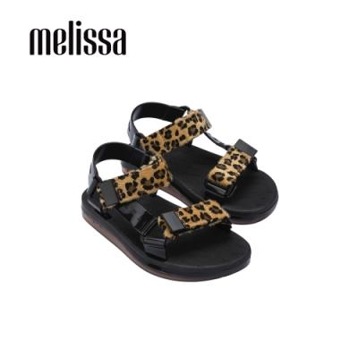 Melissa WIDE SANDAL經典雙帶涼鞋-豹紋