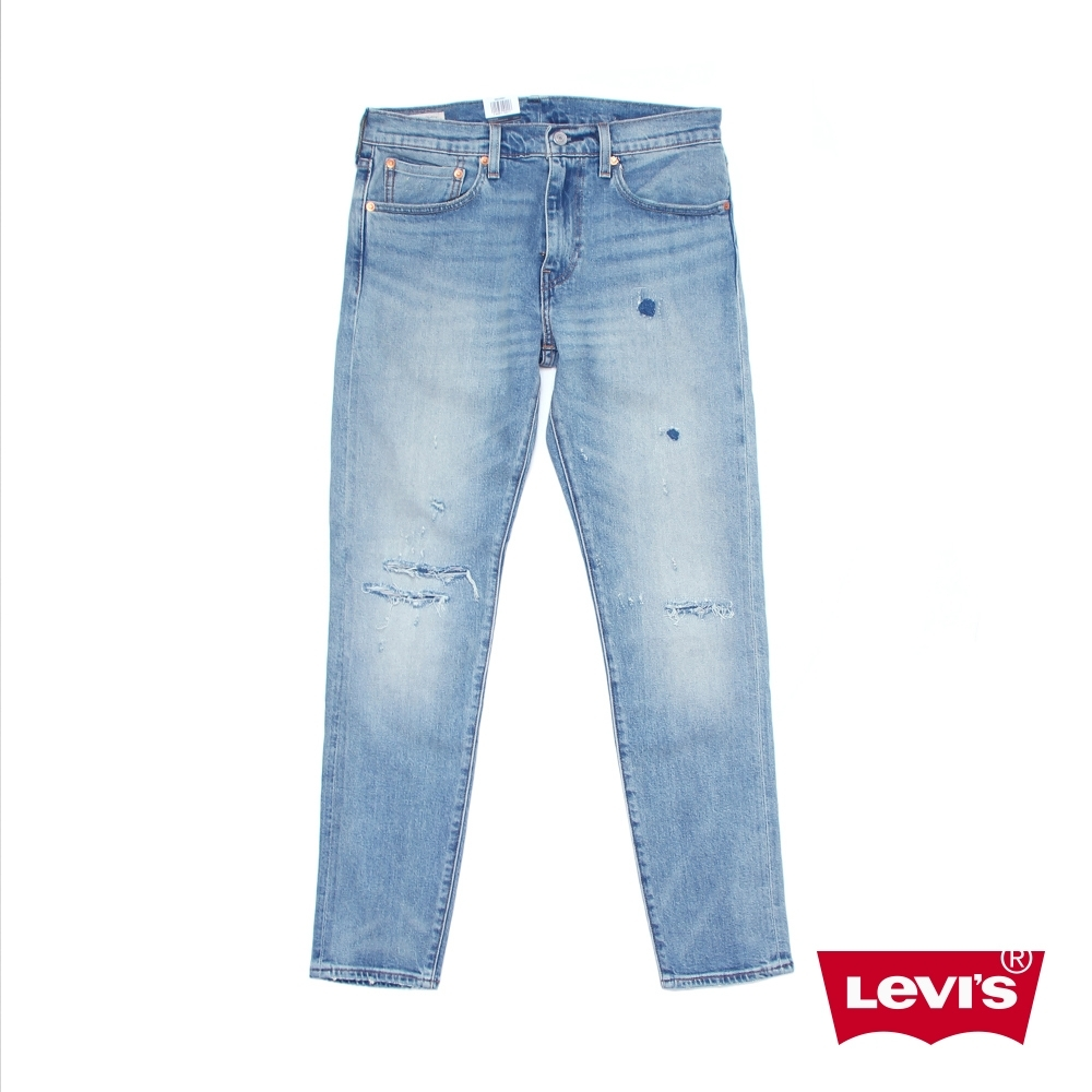 Levis 男款 上寬下窄 512 低腰修身窄管牛仔褲 / 赤耳 / 彈性布料