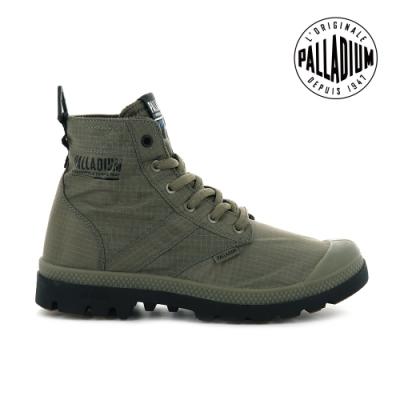 PALLADIUM PAMPA LITE+ VAPOR WP+輕量防水靴-中性-墨綠