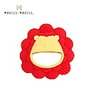 【MARCUS&MARCUS】動物樂園感官啟發固齒玩具-獅子(紅)