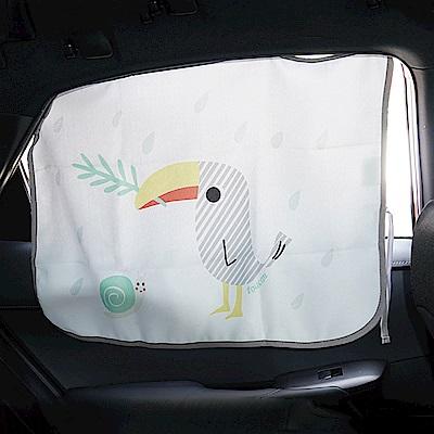 JoyNa卡通磁吸式防曬抗UV汽車窗簾