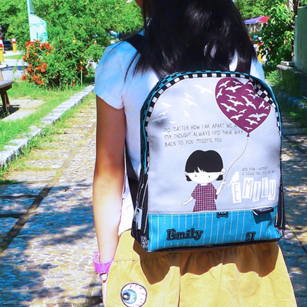 Emily萌達後背包材料包-DIY材料包