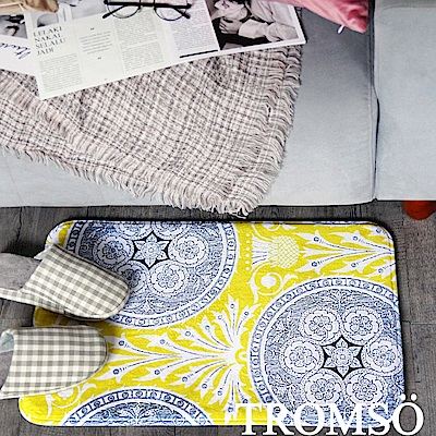 TROMSO 簡單生活超柔軟地墊-M91絕美圖騰
