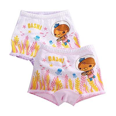 海底小縱隊純棉四角內褲(四件一組) k51123 魔法Baby