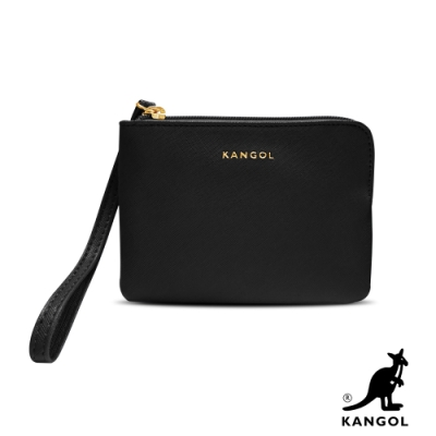 KANGOL L型單層拉鍊手拿/零錢包-任選 6125
