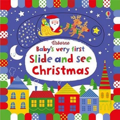 Baby s Very First Slide And See Christmas 推拉書:聖誕篇