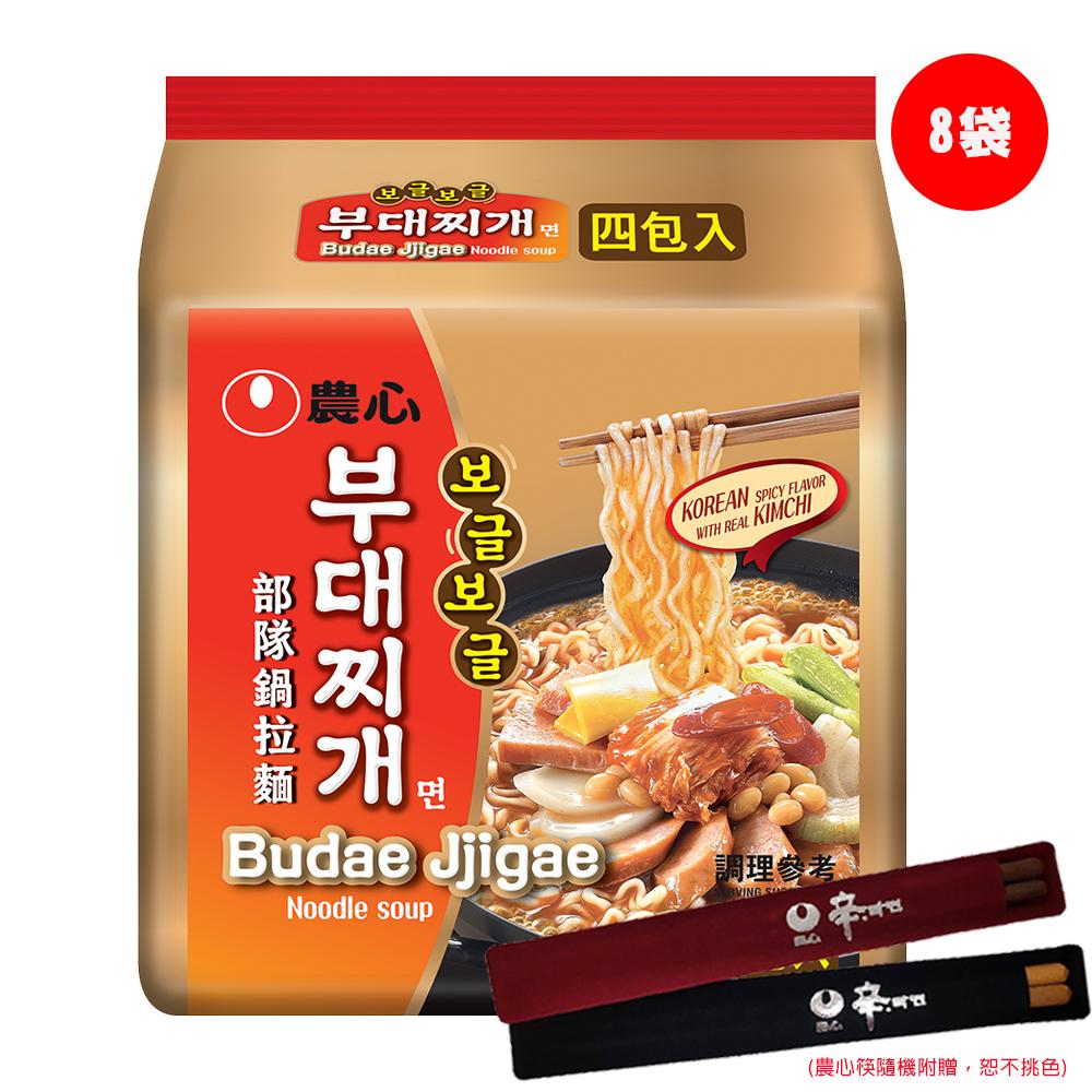 [團購D] 農心部隊鍋拉麵(127gx4入x8袋)