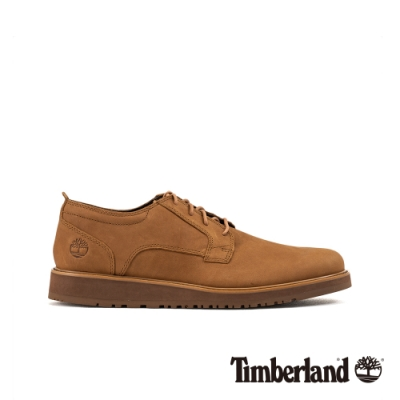 Timberland 男款中棕色磨砂革休閒鞋|A2C45