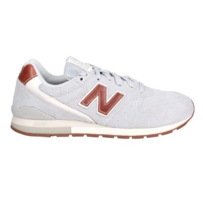 NEWBALANCE 男女復古慢跑鞋-休閒 麂皮 996系列 N字鞋 NB CM996BB 灰咖啡