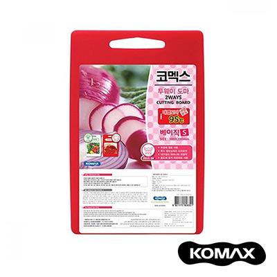 韓國KOMAX 抗菌銀離子紅白兩用砧板(小)