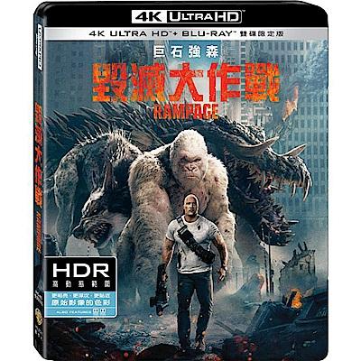 毀滅大作戰 UHD+BD 雙碟限定版 Rampage 藍光 BD