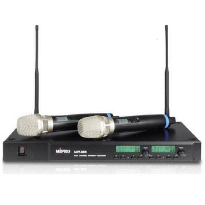 MIPRO ACT-880最新雙頻無線數位麥克風