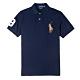 Polo Ralph Lauren經典電繡彩色大馬Polo衫(Custom)-深藍 product thumbnail 1
