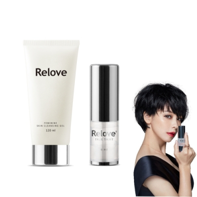Relove 緊依偎女性護理凝膠 6ml+胺基酸潔淨精華凝露120ml