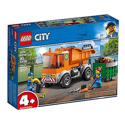 【LEGO樂高】城市系列 60220 垃圾車