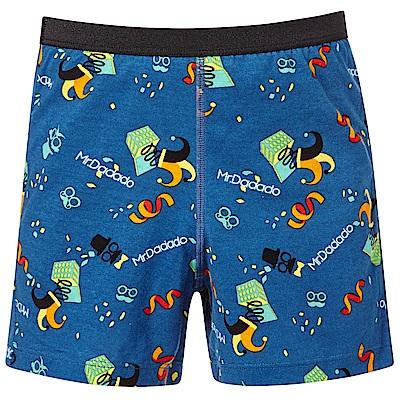DADADO-男童 110-130 四角內褲(藍綠)