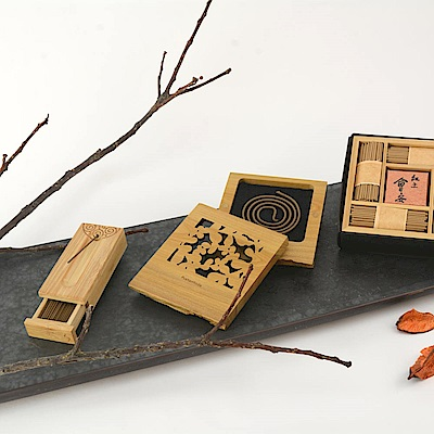 Fushankodo 富山香堂 紅土會安臥香飄逸盒精品組 @ Y!購物