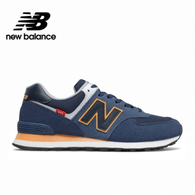 [New Balance]復古運動鞋_中性_深藍色_ML574SY2-D楦