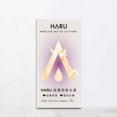 HARU含春 Ultra Thin超薄型保險套(10入/盒)